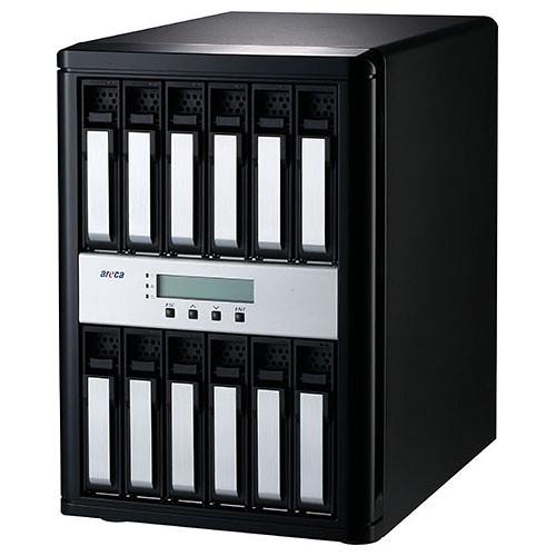 Areca ARC-8050T3-12-96TB 96TB 12-Bay Thunderbolt 3 RAID Array (12 x 8TB Drives)