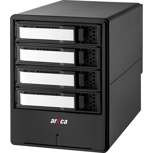 Areca ARC-8050T3 4-Bay Thunderbolt 3 RAID Array 40TB (4 x 10TB)