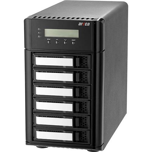Areca ARC-8050T3-6-24TB 24TB 6-Bay Thunderbolt 3 RAID Array (6 x 4TB Drives)