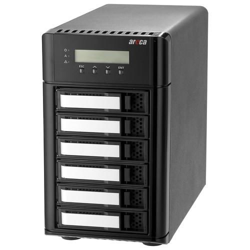 Areca ARC-8050T3 6-Bay Thunderbolt 3 RAID Storage