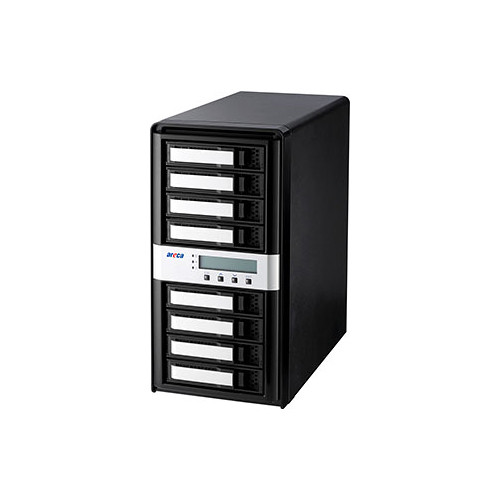 Areca ARC-8050T3-8-32TB 32TB 8-Bay Thunderbolt 3 RAID Array (8 x 4TB Drives)