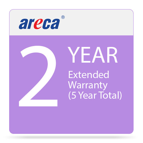 Areca Limited 2-Year Warranty Extension for ARC-8050T3 Series (5-Year Total)
