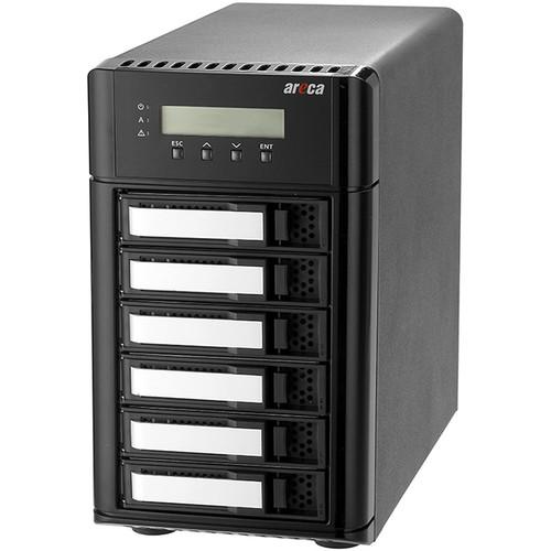 Areca ARC-8050U3-6 6-Bay USB Type-C RAID Enclosure