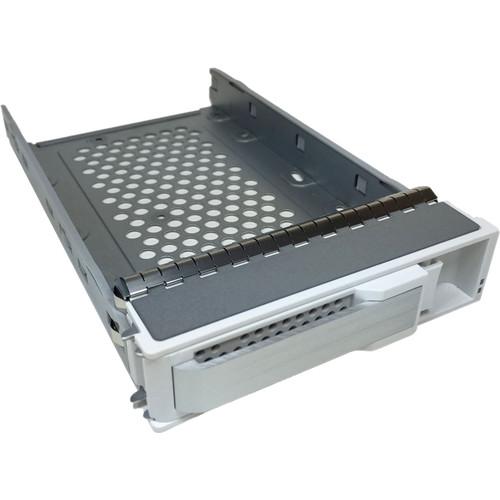 Areca Single-Drive Tray with Screws (White & Silver)