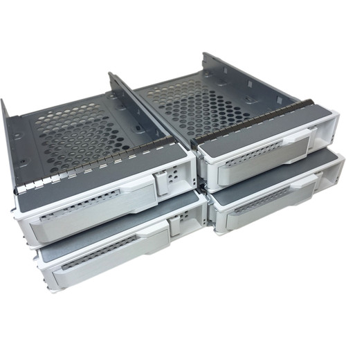 Areca Four-Drive Tray with Screws (White & Silver)