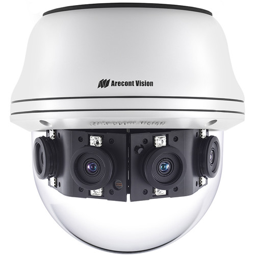 Arecont Vision Contera Panoramic AV08CPD-118 8MP Outdoor 4-Sensor Network Dome Camera