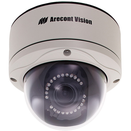 Arecont Vision AV10255AMIR-H MegaDome2 10 Mp Day & Night IP Camera