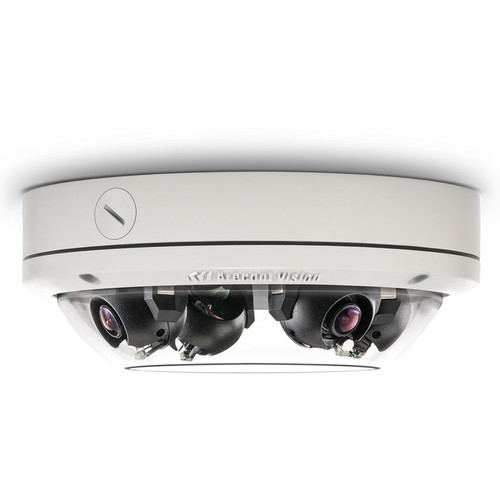 Arecont Vision SurroundVideo Omni G2 Series AV12275DN-08 12MP Outdoor Network Dome Camera with 4 Sensors