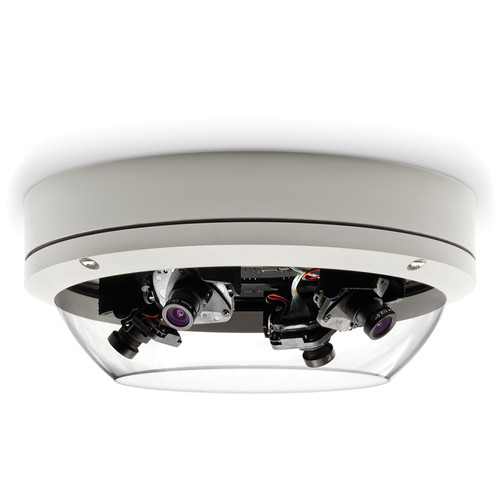 Arecont Vision SurroundVideo Series 20MP Outdoor Omni-Directional Dome Camera with 4 Sensors