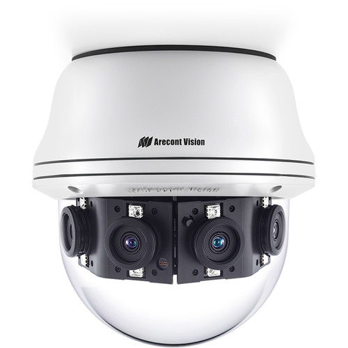 Arecont Vision AV20CPD-118 Contera Panoramic 20MP Outdoor PTZ Network Dome Camera with Night Vision