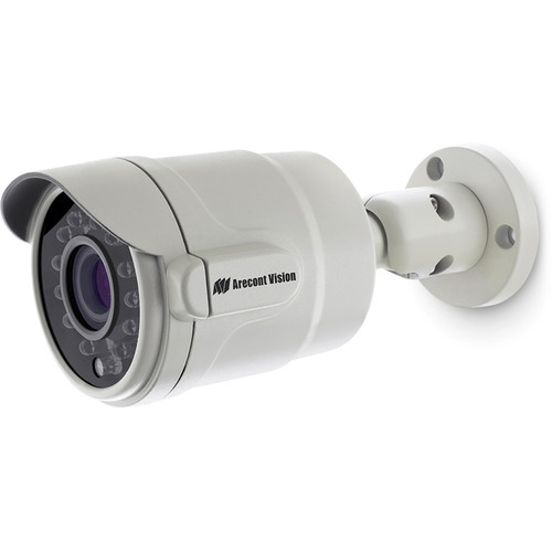 Arecont Vision MicroBullet AV2555DNIR 1080p Outdoor Network Bullet Camera with SNAPstream & Night Vision (2.8 to 8mm Varifocal Lens)