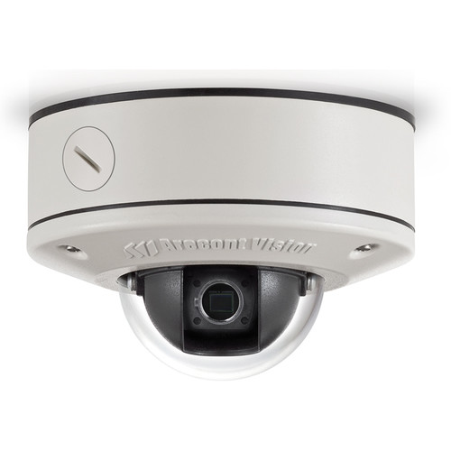 Arecont Vision MicroDome Series 3MP Surface Mount Indoor/Outdoor Vandal-Resistant Day/Night Dome IP Camera (No Lens)
