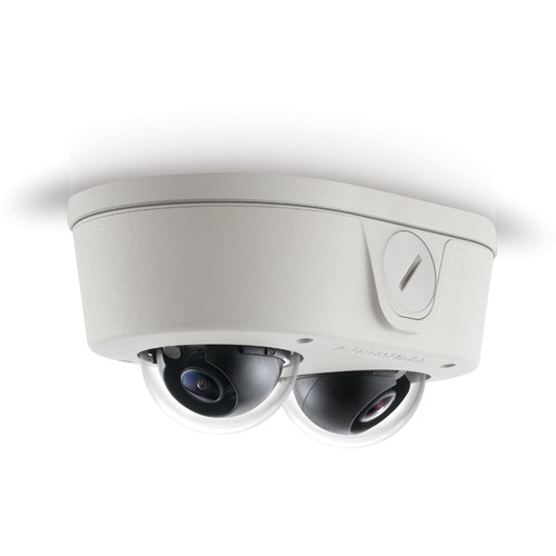 Arecont Vision MicroDome Duo Series 4MP True Day/Night Indoor/Outdoor IP Dome Camera with SNAPstream (8mm Lens)