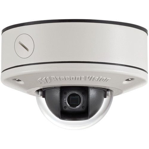 Arecont Vision MicroDome Series 5MP Surface Mount Indoor/Outdoor Vandal-Resistant Day/Night Dome IP Camera (No Lens)