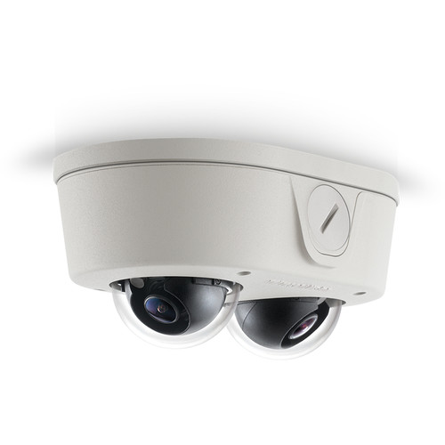 Arecont Vision MicroDome Duo Series 6MP True Day/Night Indoor/Outdoor IP Dome Camera with SNAPstream & WDR (2.8mm Lens)
