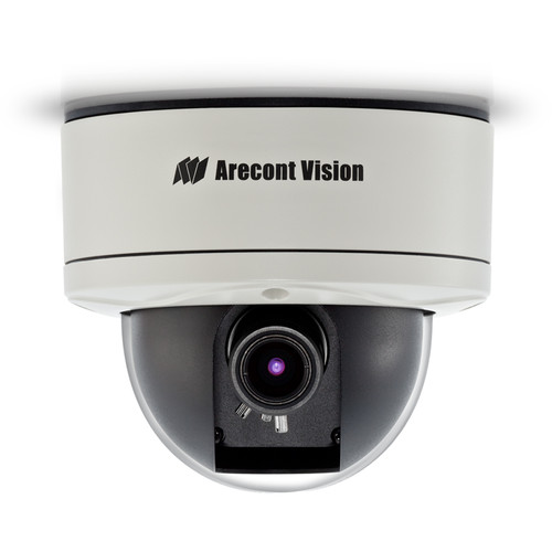 Arecont Vision MegaVideo D4 Series 3MP Outdoor Network Dome Camera with 3.3-10.5mm Varifocal Lens