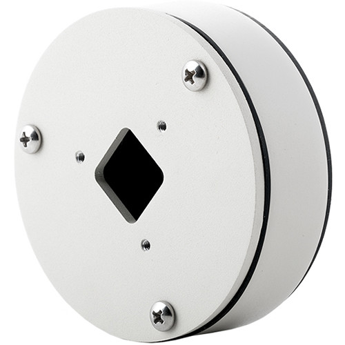 Arecont Vision Round Junction Box for MicroBullet (White)