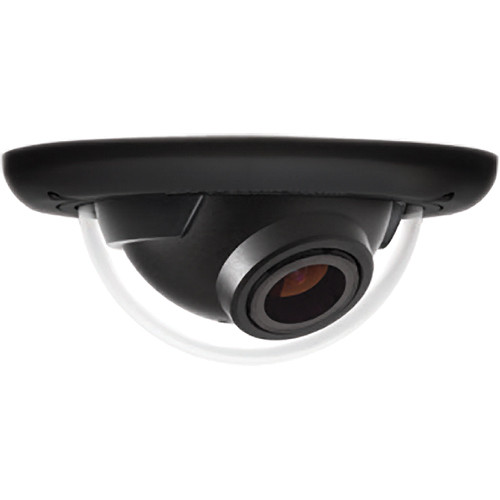 Arecont Vision MegaBall 2 Series AV3246PM-D 3MP H.264 Motorized P-Iris Lens Day/Night Flush Mount Indoor IP Dome Camera with WDR (Black)