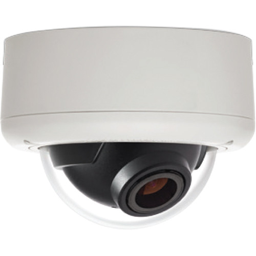 Arecont Vision MegaBall 2 Series AV3246PM-D-LG 3MP H.264 Motorized P-Iris Lens Day/Night Surface Mount Indoor IP Dome Camera with WDR (Light Gray)