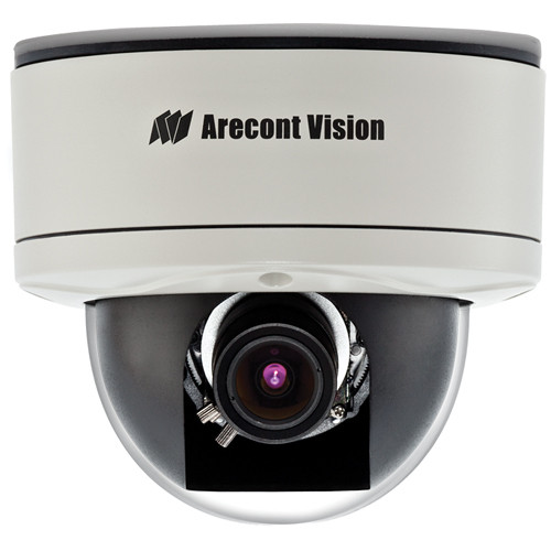 Arecont Vision MegaDome2 AV1255DN-H 1.3 Mp IP Day/Night PoE Camera with 3.4 to 10.5mm Varifocal Lens & Heater