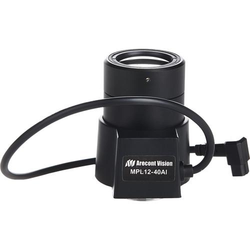 "Arecont Vision 12-40mm, 1/2"" f1.8, CS-Mount, IR Corrected, DC Auto Iris Lens"