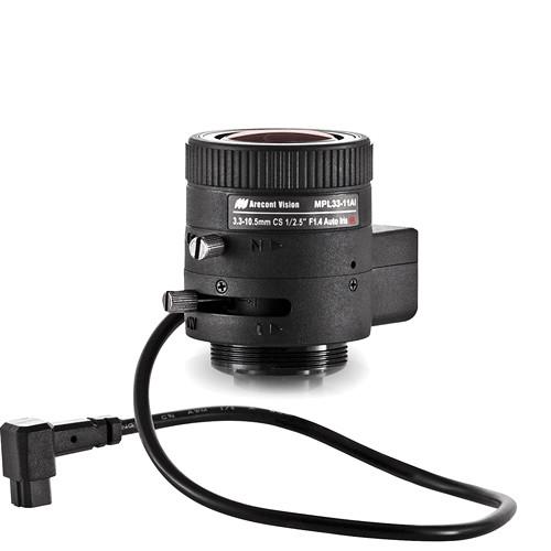 Arecont Vision CS-Mount 3.3 to 10.5mm Varifocal Megapixel Lens (DC Iris)