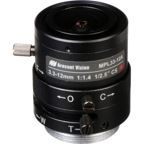 Arecont Vision CS-Mount 3.3 to 10.5mm Varifocal Megapixel Lens (Manual Iris)