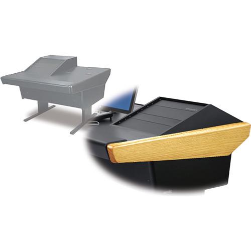 Argosy 50-V1R Universal Workspace with VR-1000 Front 10 RU (Oak Hardwood)