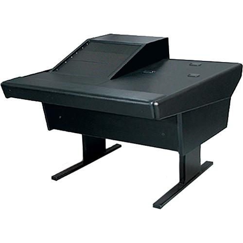 Argosy 50-V1R Universal Workspace with VR-1003 Front 10 RU & Rear 3 RU (Black)