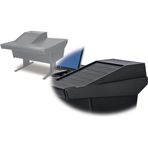 Argosy 50-V1R Universal Workspace with VR-1503 Front 15 RU & Rear 3 RU (Black)