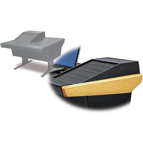 Argosy 50-V1R Universal Workspace with VR-1503 Front 15 RU & Rear 3 RU (Oak Hardwood)