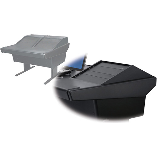 Argosy 50-V2R Universal Workspace with Two VR-1000 Front 10 RU (Black)