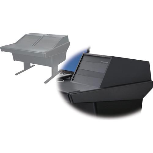 Argosy 50-V2R Universal Workspace with Two VR-1005 Front 10 RU & Rear 5 RU (Black)