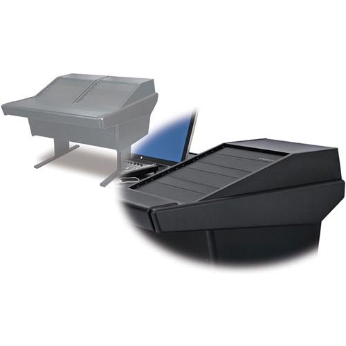 Argosy 50-V2R Universal Workspace with Two VR-1503 Front 15 RU & Rear 3 RU (Black)