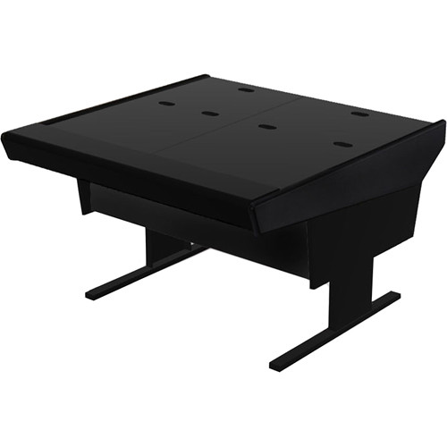 Argosy 50-VNR Universal Workspace with Desk Surface (Black)