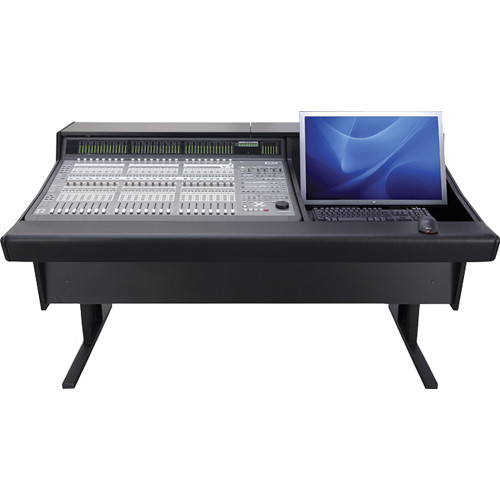 Argosy 70 Series Desk for Digidesign C|24 Controller with Monitor Insert (Black)