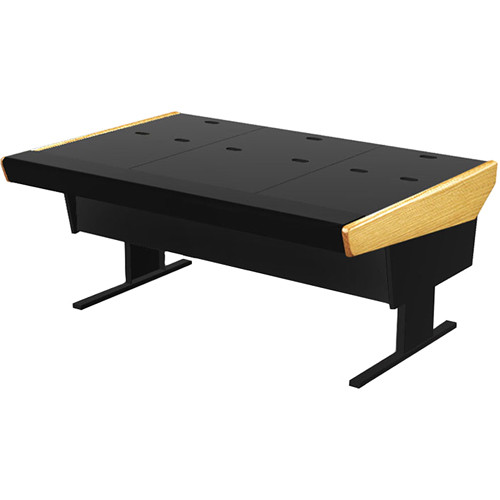 "Argosy 70-VN Universal Workstation Desk with 66.5"" Flat Desk Insert (Oak)"