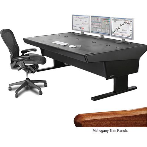 """Argosy V2NR Universal Workstation Desk (Mahogany, 89.5"""")"""