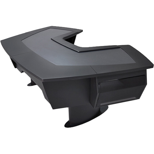 Argosy Aura 260 Personal Workstation Desk with Full Desk Surface
