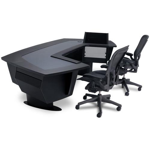 Argosy Aura 520 Personal Workstation Desk with 11 RU Space, Upper Right