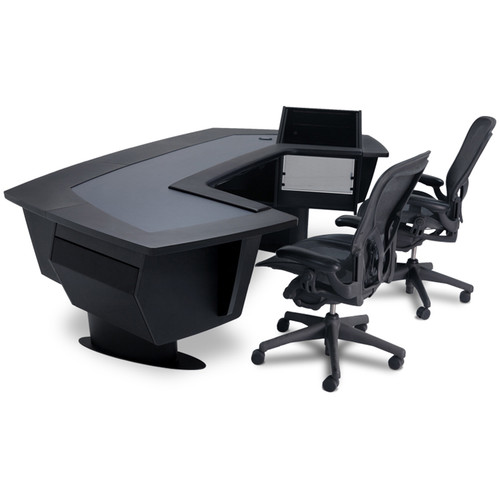 Argosy Aura 520 Personal Workstation Desk with 11 RU Space, Upper Right