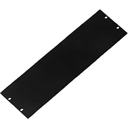 Argosy Blank Panel Cover with Logo (3 RU, Black)
