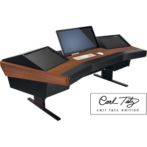 Argosy Dual 15 Workstation Desk with Two DR800 Front 8 RU (Carl Tatz Edition Package)
