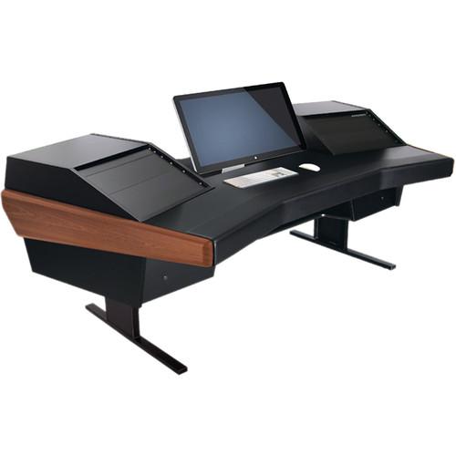 Argosy Dual 15 Desk for SSL Nucleus Workstation (Mahogany)