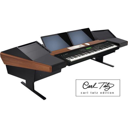 Argosy Dual 15KL Keyboard Workstation Desk with DR800 8 Upper RU (Carl Tatz Edition Package)