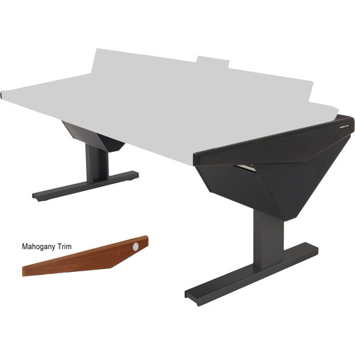 Argosy Eclipse Console for S6 - 4 Bucket Wide, with Nothing (L) and Nothing (R) (Mahogany)