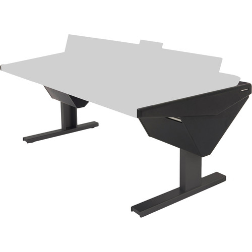 Argosy Eclipse Console for S6 - 5 Bucket Wide, with Nothing (L) and Nothing (R) (Black)