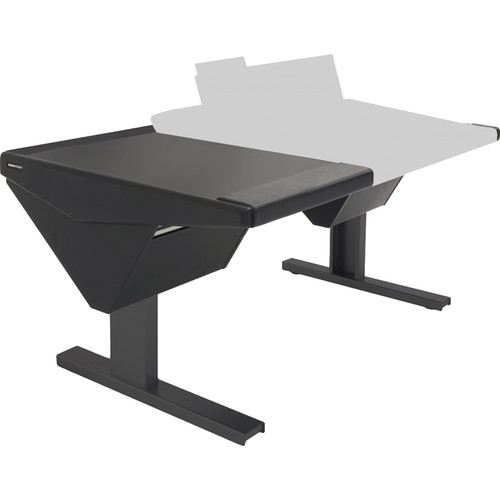 Argosy Eclipse Console for S6 - 6 Bucket Wide, with Desk (L) and Nothing (R) (Black)