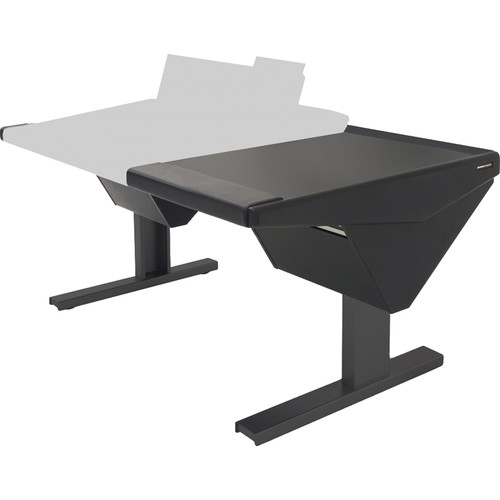 Argosy Eclipse Console for S6 - 6 Bucket Wide, with Nothing (L) and Desk (R) (Black)