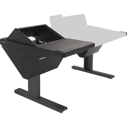 Argosy Eclipse Console for S6 - 6 Bucket Wide, with Rack (L) and Nothing (R) (Black)